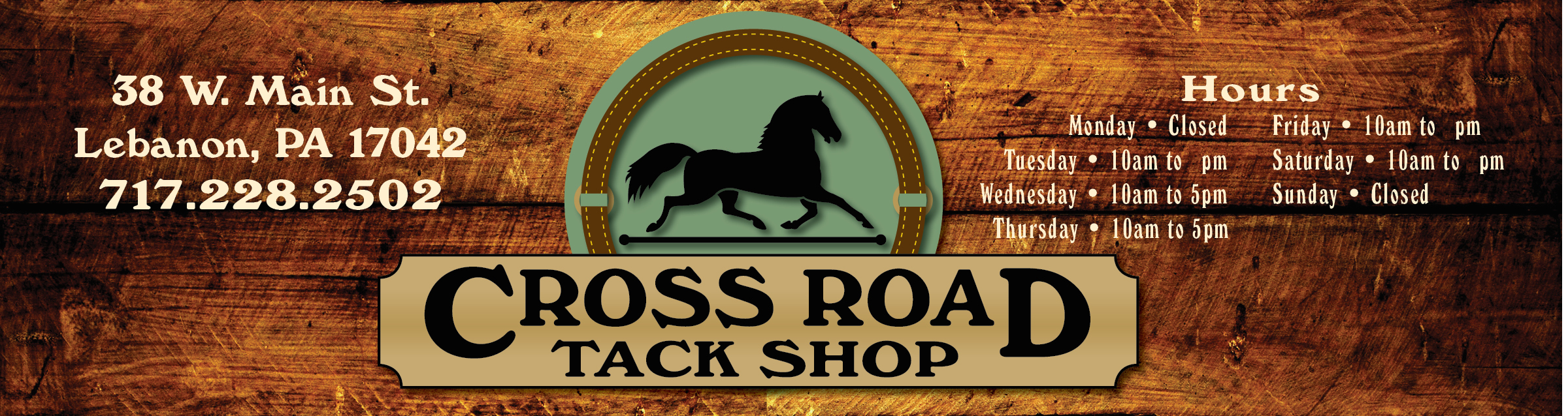 Cross Road Tack Shop - For horses and people on a budget!